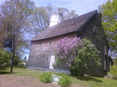 The Eleazer Arnold House in Smithfield, Rhode Island.  Am I a descendant?