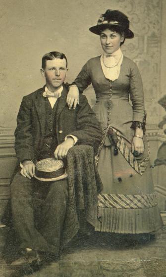 gr-gr-grandparents, Louis and Jessie Ruth (MacLeod) Murdock