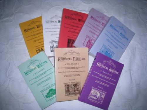 Narragansett Historical Register, modern reprint