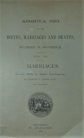 Vital Records Of Rhode Island Volume
