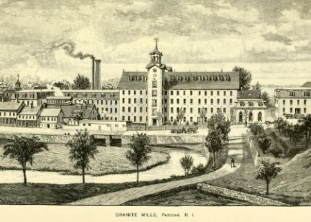 Granite Mills, Pascoag, R.I., from The History of Providence County, p. 582.