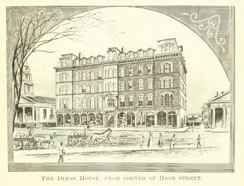 Dixon House, Westerly, from Leading Businessmen of Westerly, Stonington, and Vicinity. Boston: Mercantile Publishing Co., 1889.