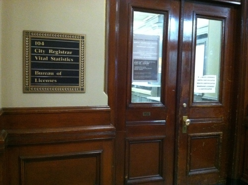 Providence City Hall Vital Statistics