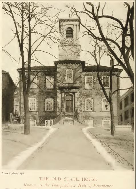 The Old State House from Old Providence, A Collection of Facts and Traditions, 1918, Providence, R.I., p. 30
