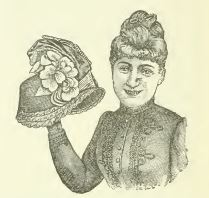 picture for Mrs. H.D. Burdick's Millinery shop, from the slightly mis-named book Leading Business Men of Westerly, 1889