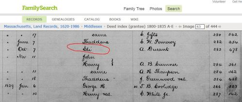 I found only one entry for Eli Baldwin here in the 1800-1835 Grantee Index.