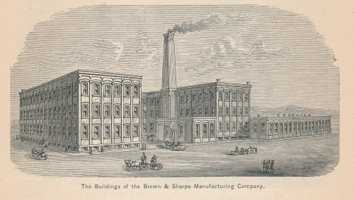 The Buildings of the Brown & Sharpe Manufacturing Company, p. 193
