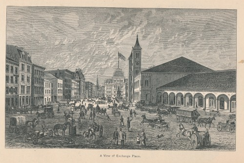 A View of Exchange Place, p. 184.  Providence City Hall is in the center.