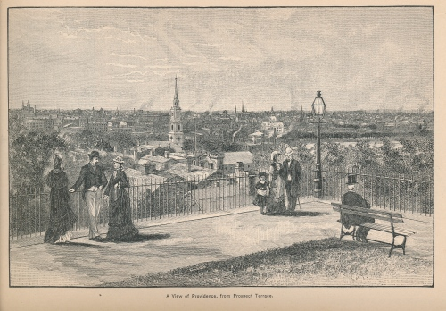 View of Providence, from Prospect Terrace, p. 178