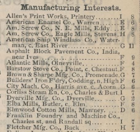 Map-detail-manufacturers