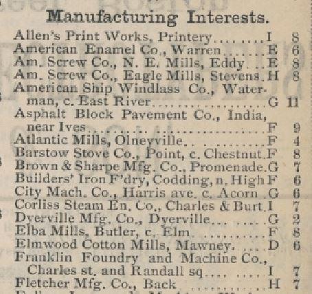 Map-detail-manufacturers