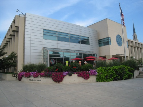 The Allen County Public Library in Fort Wayne, Indiana
