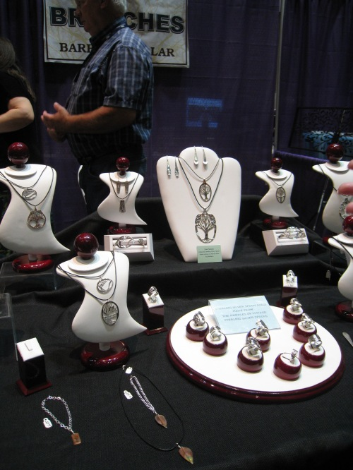 Barb's Branches was selling ancestry-related jewelry in the Vendor Hall