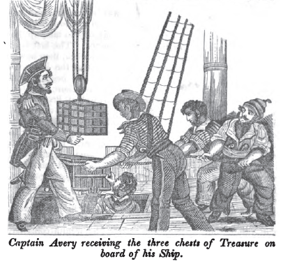 I've been fascinated for a while with The Pirates Own Book by Charles Ellms, 1837.  I guess now I know why.