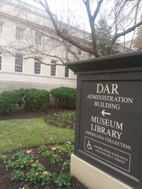 The Library is housed with DAR Headquarters, Museum, and Constitution Hall.