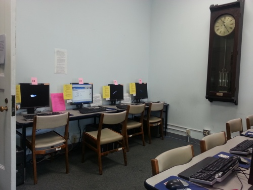 The Seimes Technology Center offers access to membership applications and various databases.