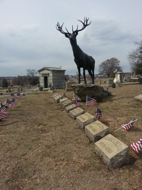 The Elks memorial