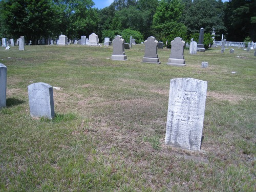 The Ballou Cemetery, Cumberland Historic Cemetery 009, Mendon Road.  The graves pictured are of some Carpenters.