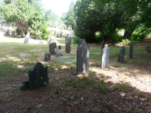 The Razee section of Peck Cemetery, Cumberland Historic Cemetery 19, Abbot Run Valley Road.