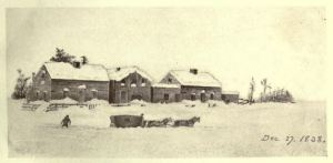 Heavy Snow, Dec. 27, 1838
