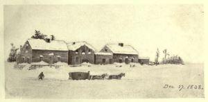 Heavy Snow, Dec. 27, 1838