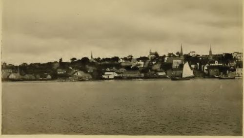 The town of Pictou 50 years after William Murdock left - 1914.  From