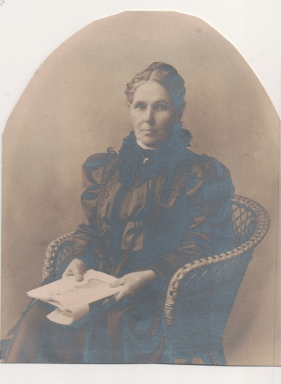 Sarah (MacLean) MacLean, 1852-1940, from Jo-Anne's original