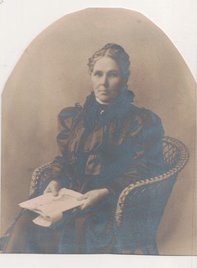 Sarah (MacLean) MacLean, 1852-1940, from Jo-Anne's original