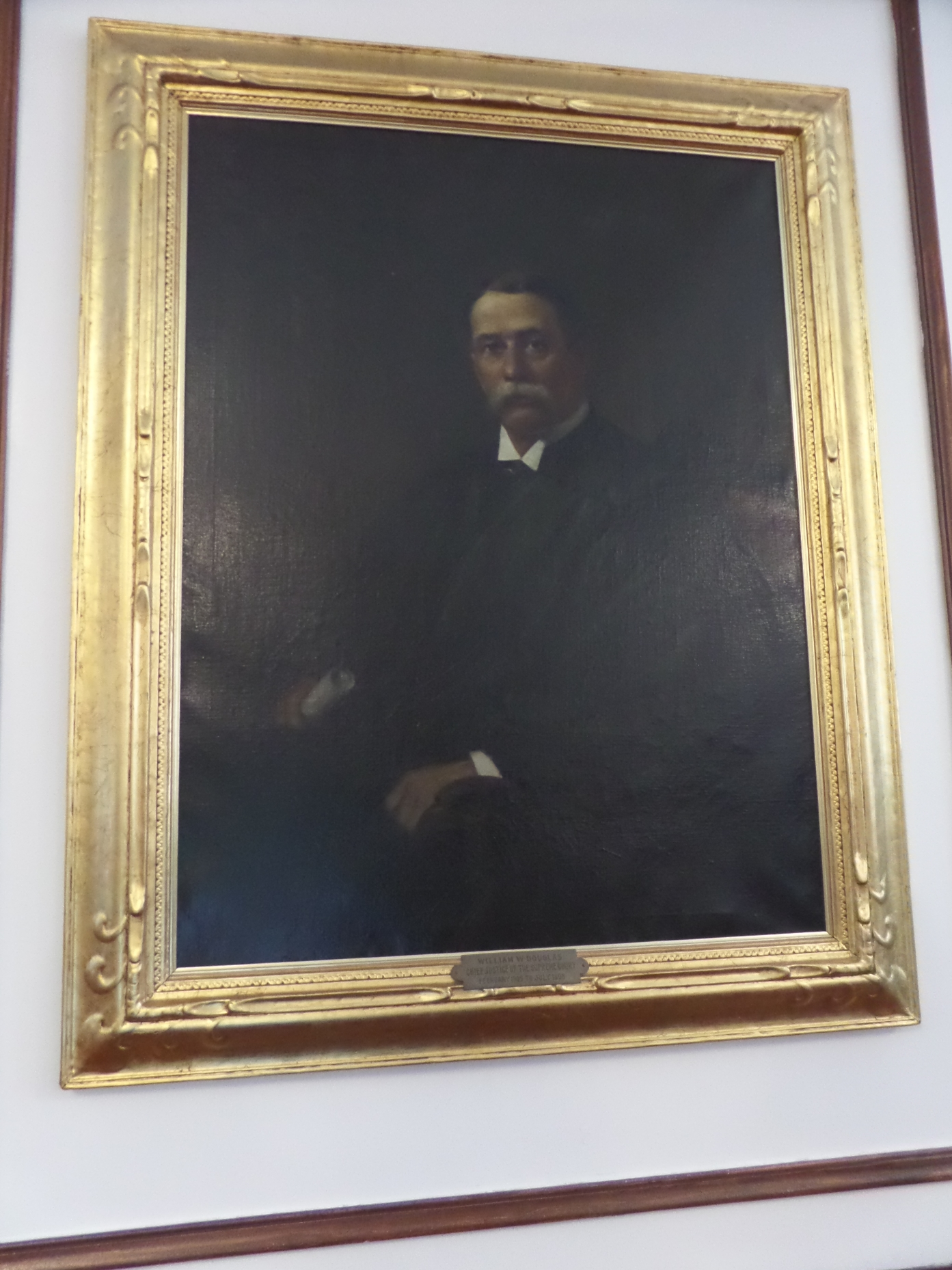 One of the first portraits I found was my uncle's, Judge William Wilberforce Douglas.