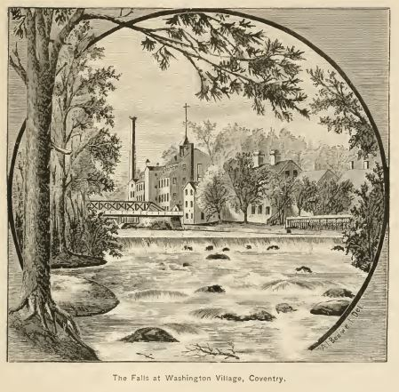 In later years, parts of Coventry became industrialized, where waterpower was available.