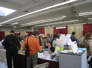 Maia's Books in the exhibit area