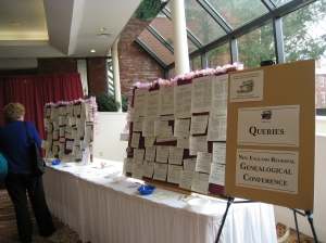 Queries board in the Registration area