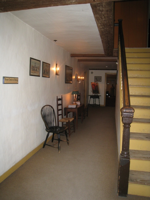 Center hallway at the Wayside Inn