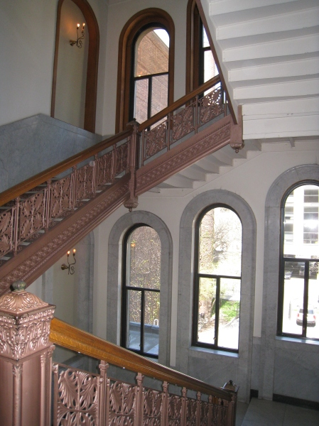 Stairway at the Newberry