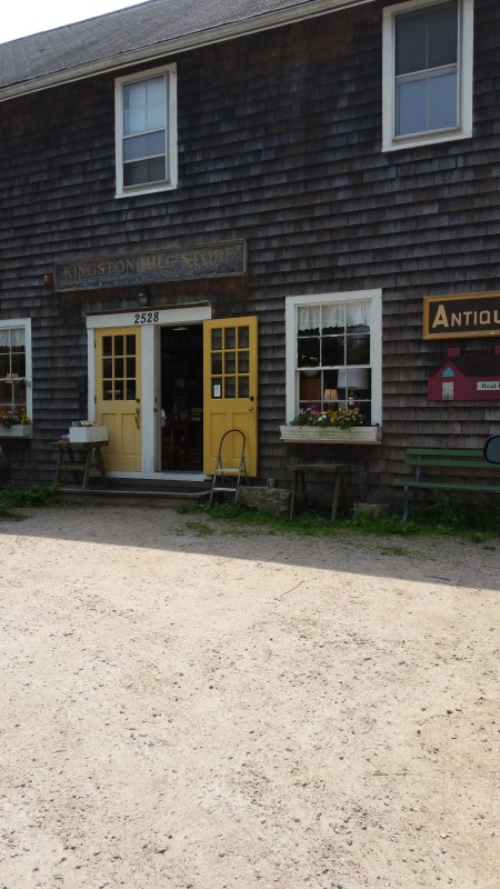Kingston Hill Store, Rte. 138, Kingston, Rhode Island.