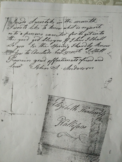 Page 2 of the letter, signed