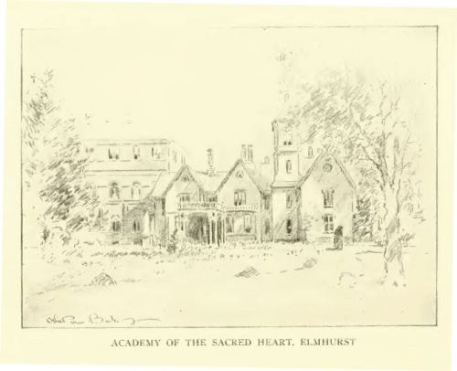 Academy of the Sacred Heart, Elmhurst, Providence. The history of the state of Rhode Island and Providence Plantations, Volume 2, p. 621.