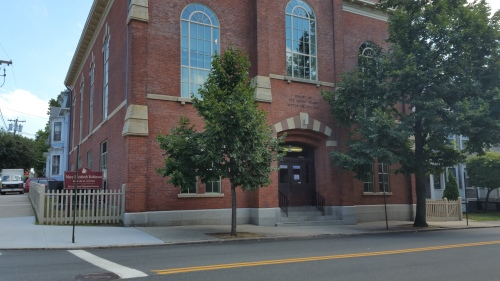 The Rhode Island Historical Society on Hope Street, Providence. Photo by Diane Boumenot.