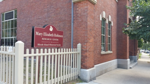 Newly renamed the Mary Elizabeth Robinson Research Center, the library has a lot to offer in the way of unique manuscripts and special Rhode Island collections.