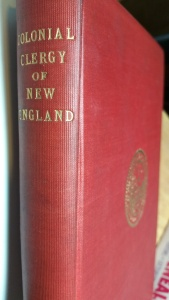 Colonial Clergy of New England.