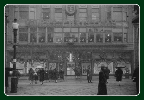 The Outlet Department Store on Weybosset Street, in the snow. This is my favorite picture.