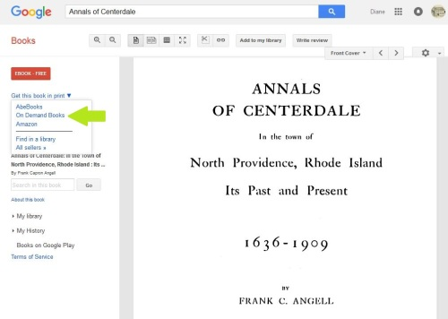 Annals of Centerdale