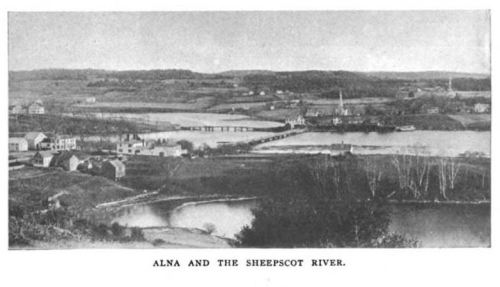 Alna and the Sheepscot River, The New England Magazine NS v.24 p 523 March 1901