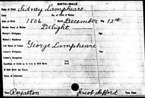 Ancestry.com - Vermont, Vital Records, 1720-1908 card 2910 of 4095.