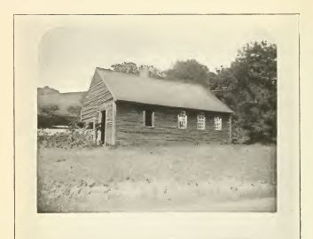 Old schoolhouse from History of Royalton
