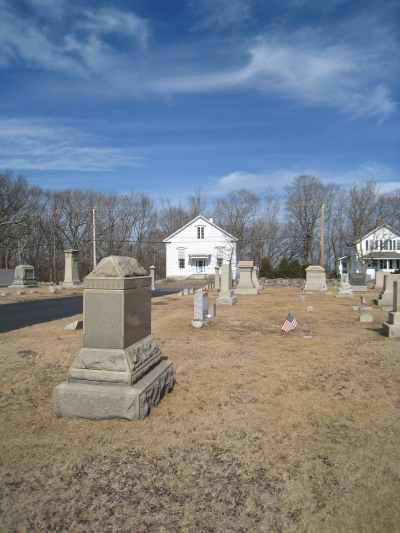 Union Cemetery, North Smithfield, R.I.  Photo by Diane Boumenot