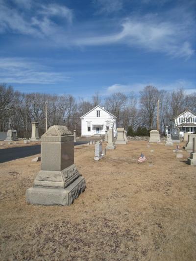 Union Cemetery, North Smithfield, R.I. Photo by Diane Boumenot