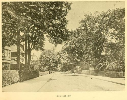 A view of Kay Street, c1905, from Newport and its Points of Interest, page 21.