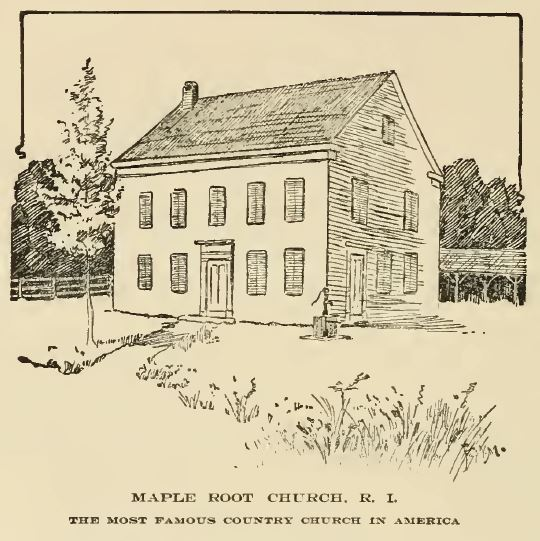 Maple Root Church From Greene Genealogy