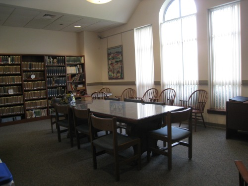 The Genealogy Room at the library, donated by the Ross Family.